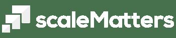 scaleMatters Logo Horizontal WhiteGray